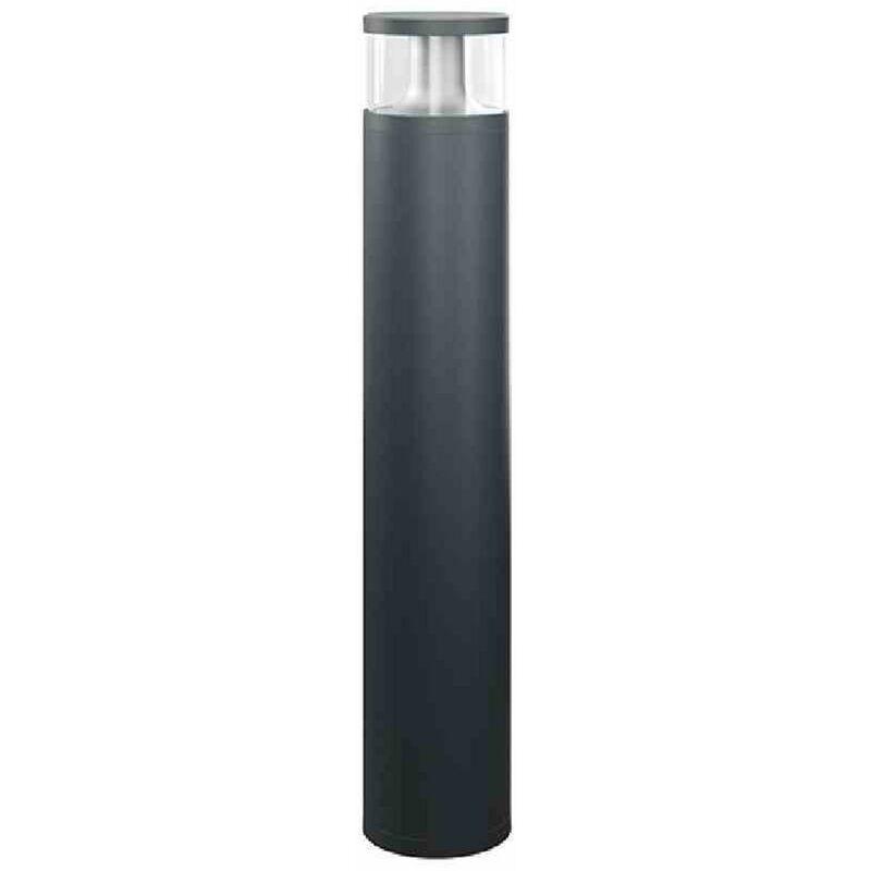 Esy-lux - ALVA LED-Pollerleuchte, 18W, 84LEDs, IP65, 3000K, 1150lm, anthrazit, Aluminium, Kunststoff transparent