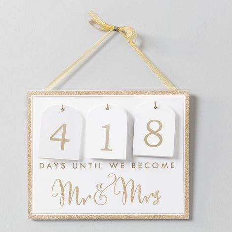 Always & Forever Countdown Calendar To Wedding