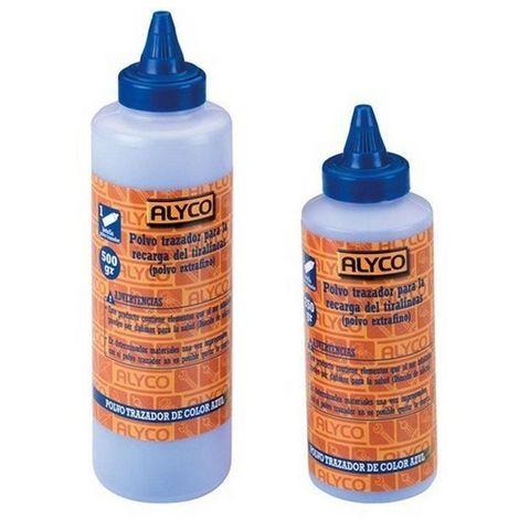 ALYCO 196199 - Botella 500 gr. polvo trazador color azul