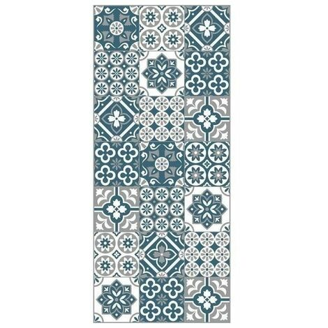 Amadora Tapis 100 Vinyle Imitation Carreau De Ciment 49 5x112