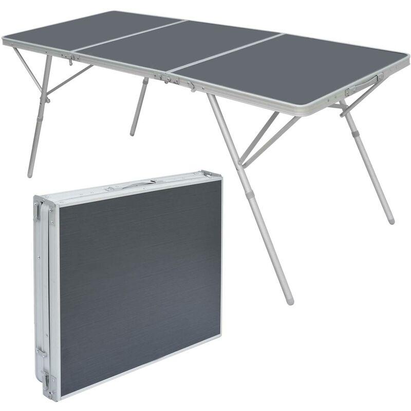 Tavoli Pieghevoli Da Campeggio.Amanka Grande Tavolo Da Campeggio Xxl 180x70x70cm Tavolino Da
