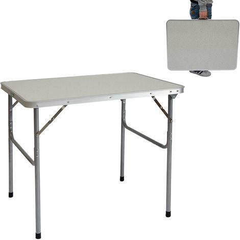Tavoli Pieghevoli Da Mercatino.Amanka Tavolino Da Pic Nic 80x60x70cm Tavolo Da Campeggio