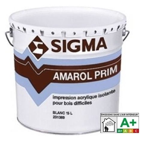 AMAROL PRIM - SIGMA - Impression isolante phase aqueuse