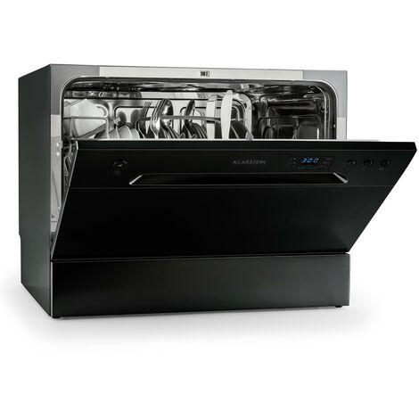 Amazonia 6 Table Dishwasher A+ 1380W 6 Place Settings 49 dB Black