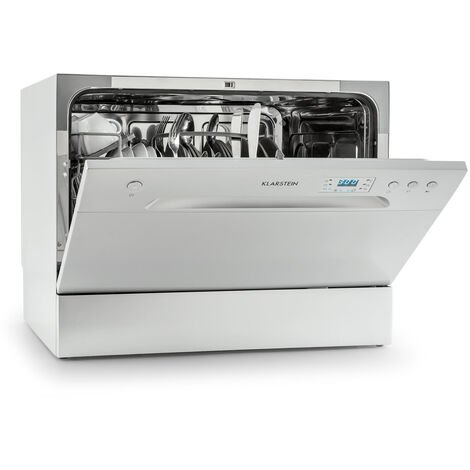 Amazonia 6 Table Dishwasher A+ 1380W 6 Place Settings 49 dB Silver