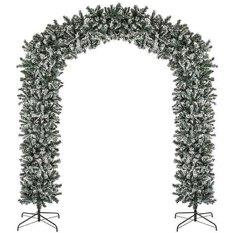 "main image of ""Ambassador Flocked Christmas Tree Arch 2.4m 8ft - TR800ETAF"""
