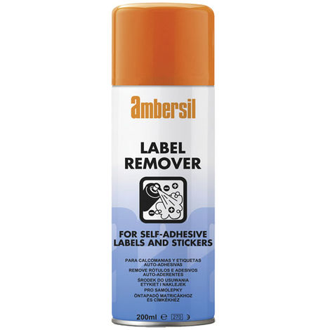 Ambersil 200ml Label & Adhesive Remover Stickers 31629