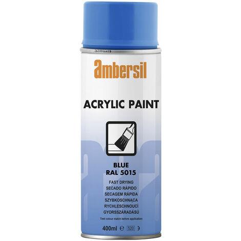 Ambersil 20185-AA Acrylic Paint Blue RAL 5015 400ml
