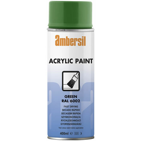 Ambersil 20187-AA Acrylic Paint Green RAL 6002 400ml