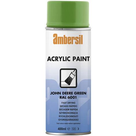 Ambersil 20558-AA Acrylic Paint John Deere Green RAL 6001 400ml
