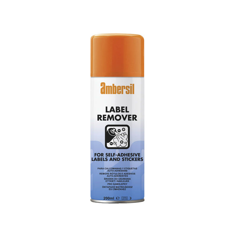 Image of 200ml Label & Adhesive Remover Stickers 31629 - Ambersil