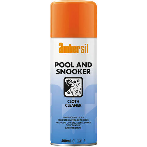 Ambersil 31632-AA Pool & Snooker Cloth Cleaner 400ml