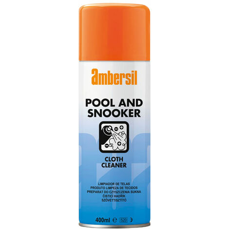 Ambersil 31632 Baize Cloth Cleaner - Speciality For Pool & Snooker Tables 400Ml
