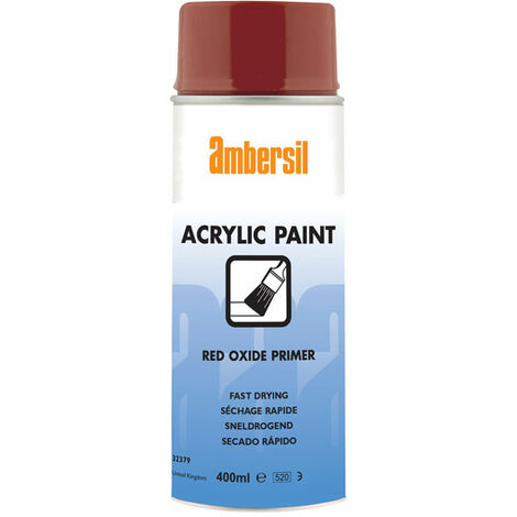 Ambersil 32379-AA Acrylic Paint Red Oxide Primer 400ml