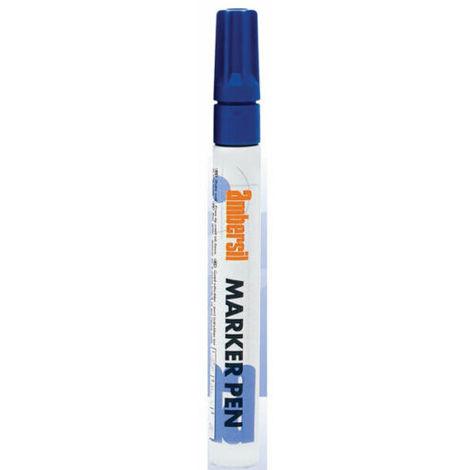 Ambersil Blue Acrylic Paint Marker Pen 3mm Fibre Nib 20368