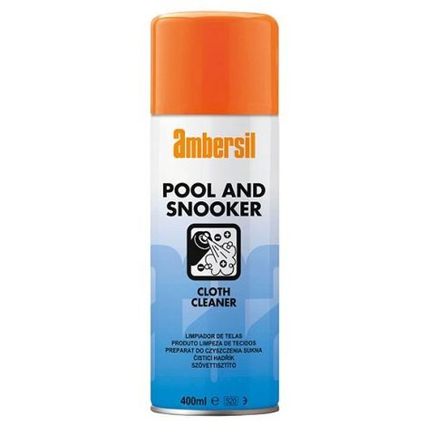 Ambersil Pool & Snooker Baize Cloth Cleaner 400ml Billiards 31632