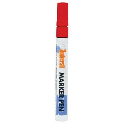 Ambersil Red Acrylic Paint Marker Pen 3mm Fibre Nib 20387
