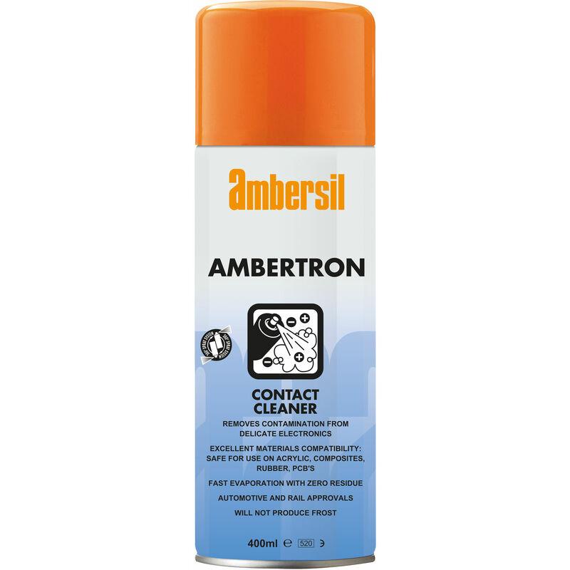 Image of 31552-AA Ambertron Contact Cleaner 400ml - Ambersil