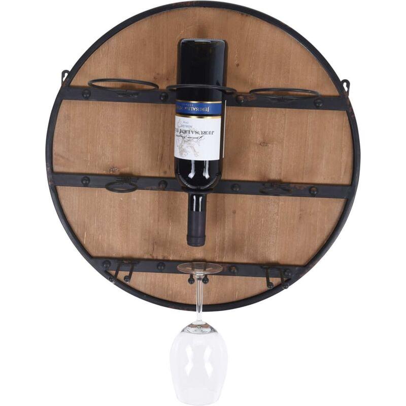 Image of Wine Rack for 3 Bottle 50 cm - Black - Ambiance