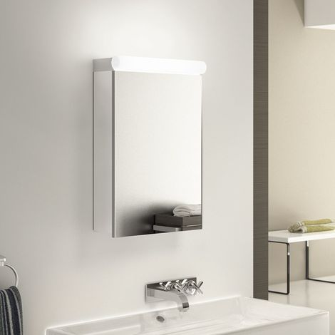 Ambient Audio Demist Bathroom Cabinet With Bluetooth, Shaver & Sensor k502Waud