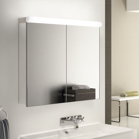 Ambient Audio Demist Bathroom Cabinet With Bluetooth, Shaver & Sensor k505Waud