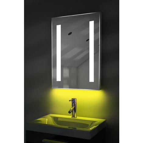 Ambient Audio Mirror Bluetooth With Under Lighting, Demister, Shaver & Sensor k205iyaud