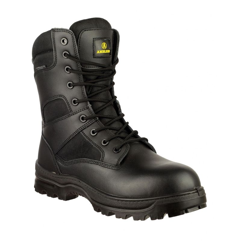 Image of Amblers Combat Boot / Mens Boots (5 UK) (Black)