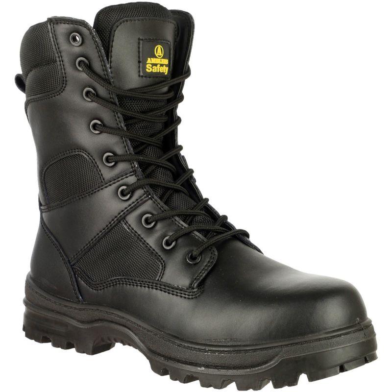 Image of Amblers FS008 Mens Safety Boots (42 EUR) (Black)