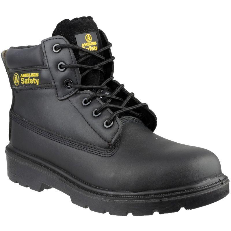 Image of Amblers FS12C Unisex Composite Safety Boot (41 EUR) (Black)