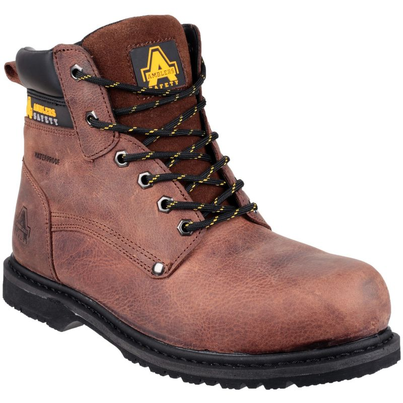 Image of Amblers FS145 Mens Safety Boots (7 UK) (Brown)