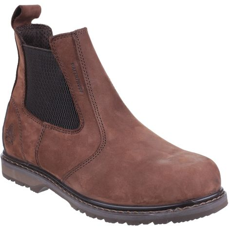Amblers Mens AS148 Sperrin Pull On Safety Dealer Boots