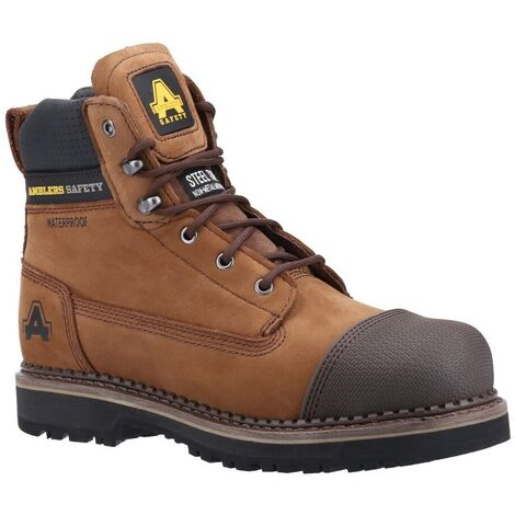 Amblers Mens AS233 Leather Scuff Boot