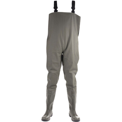Amblers Mens Tyne Chest Safety Wader Wellingtons