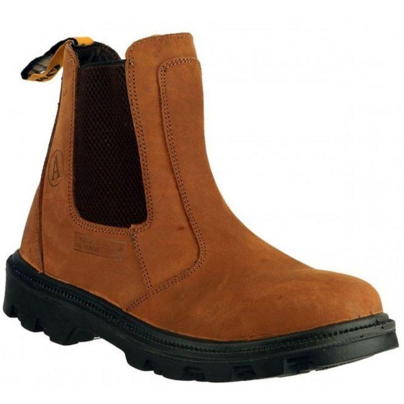 Image of Amblers FS131 Safety Dealer / Mens Boots / Dealers Safety (11 UK) (Brown)