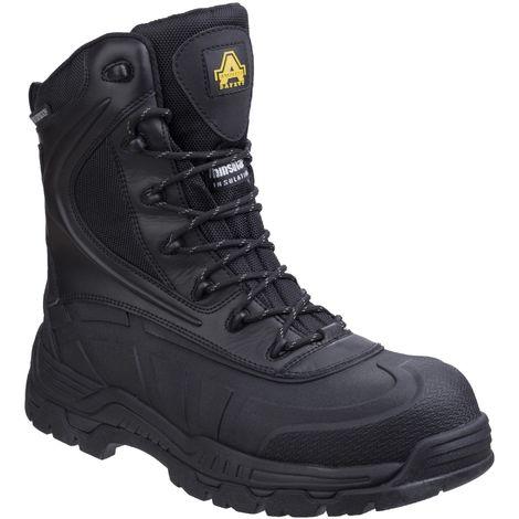 Amblers Safety Mens AS440 Hybrid Metal Free Hi-leg Waterproof Safety Boot