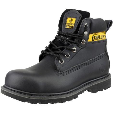 Amblers Steel Mens FS9 Steel Toe Cap Boot / Mens Boots