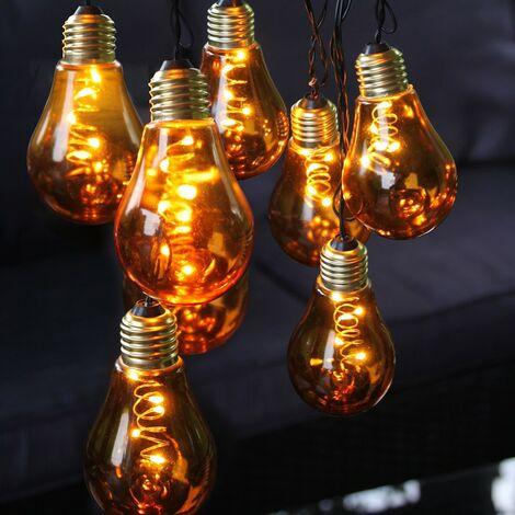 Ambrée micro bernstein LED Lichterkette