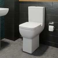 Amelie Comfort Height Toilet & Soft Close Seat