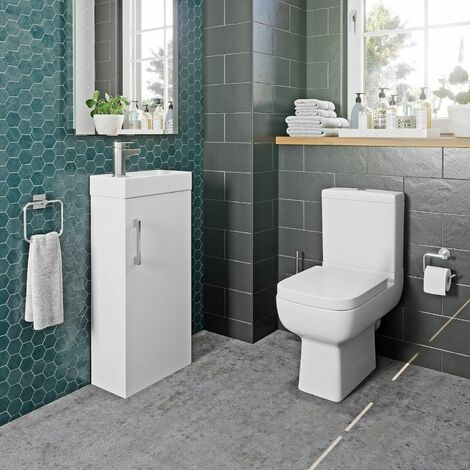 Amelie Toilet and 400mm Kompakt Vanity Unit