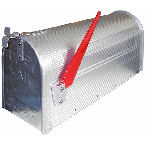 DEMA American Mailbox aus Stahl Anthrazit
