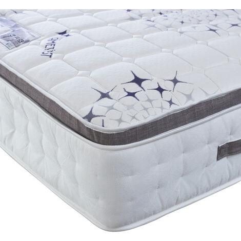 Ametist Crystal 2500 Pocket Sprung Pillow Top Mattress Small Double