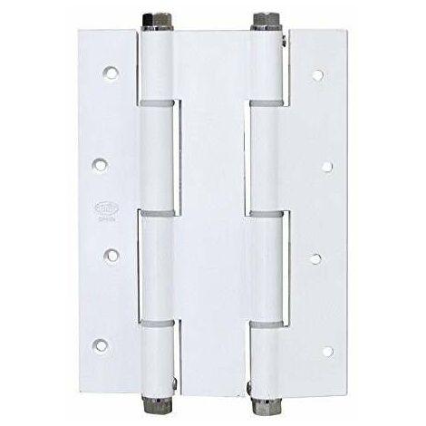 Amig Bisagra 3033 Doble Accion Aluminio Blanca 180*135*3