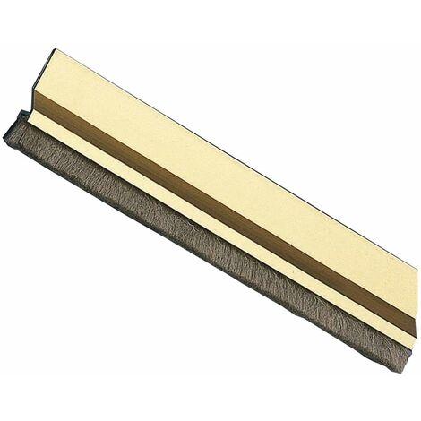 Amig Burlete Puerta Aluminio 2 Felpudo 1000 Oro