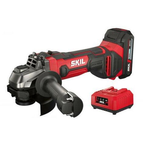 Amoladora a batería 20V Max Skil 3920 AA + Batería 2,5Ah y cargador