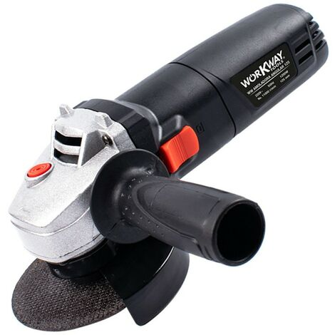 """main image of """"Amoladora angular 1200W de 115mm y 125mm de diámetro, WORKWAY TOOLS"""""""