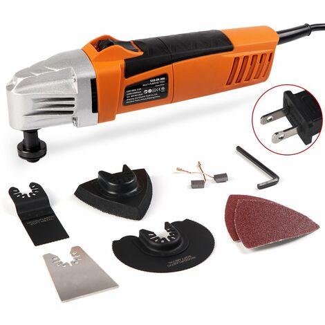 Amoladora angular de 110V / 230V 260W 11000-22000rpm Amoladora de ángulo de herramienta eléctrica oscilante de sierra múltiple (230V)