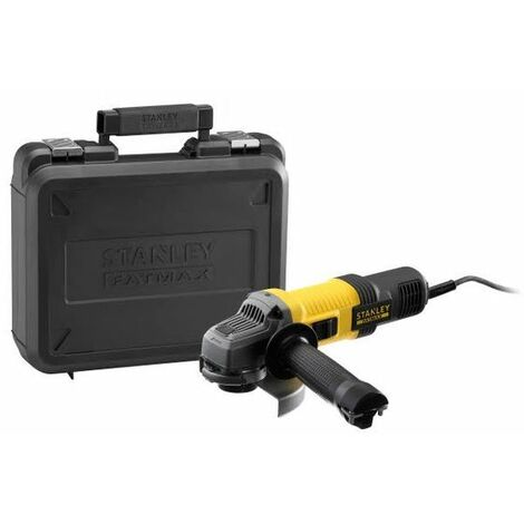 Amoladora angular en un maletín Stanley FMEG220K