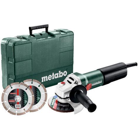 Amoladora angular Metabo WQ 1100-125 Set