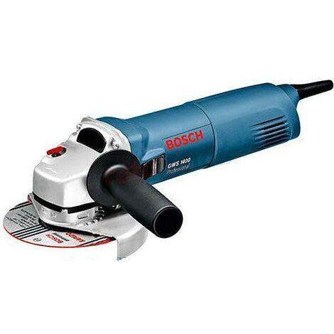 Amoladora angular profesional Bosch GWS 1400 W 125 mm
