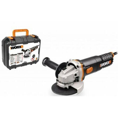 Amoladora bric 115 mm 750w worx